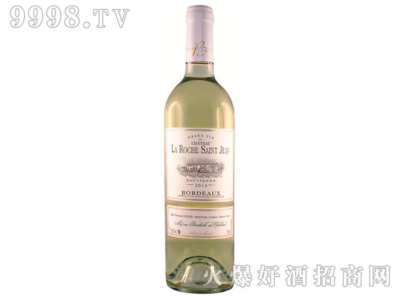 法国珞狮圣让酒庄干白葡萄酒2014