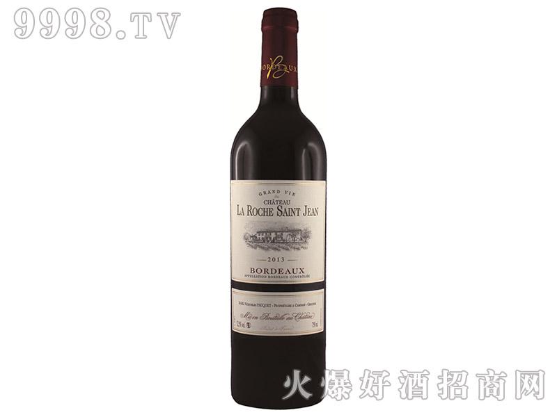 法国珞狮圣让酒庄干红葡萄酒2013