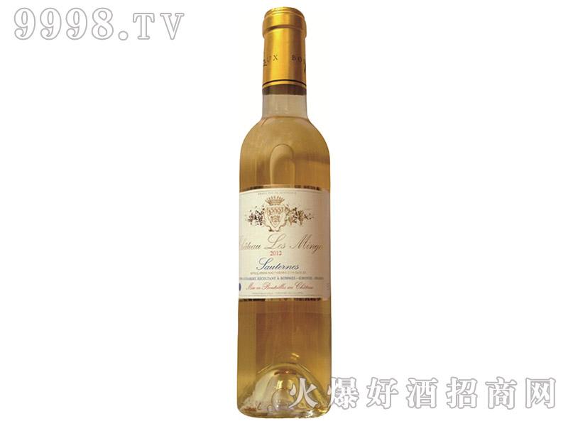 法国莱明茨城堡贵腐甜白葡萄酒2012