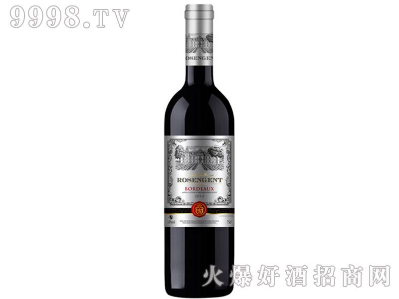 法国洛圣让干红葡萄酒750ml