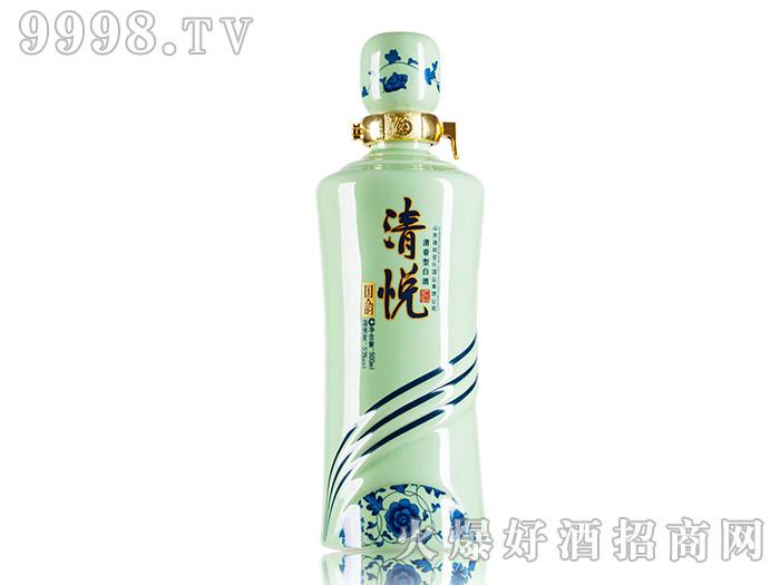 清悦酒国韵53°500ml浓香型白酒