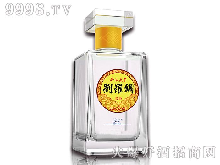 刘罗锅酒34°500ml浓香型白酒