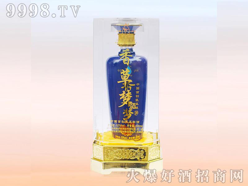 香草梦52°500ml浓香型白酒