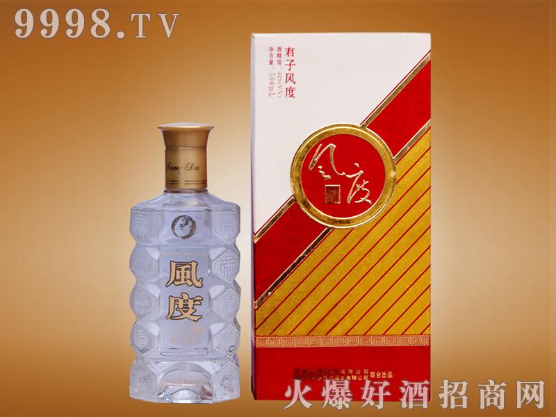 风度酒君子风度42°500ml浓香型白酒