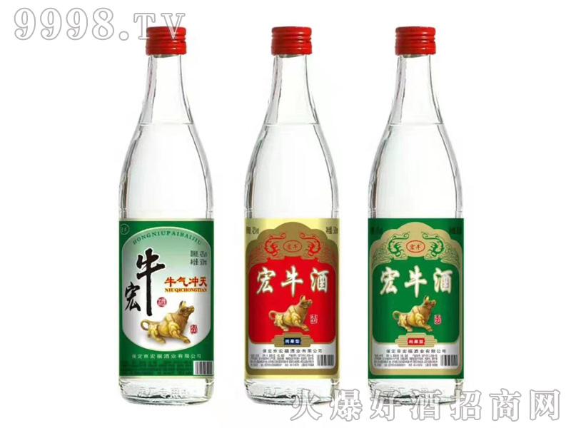 京宏福宏牛酒组合