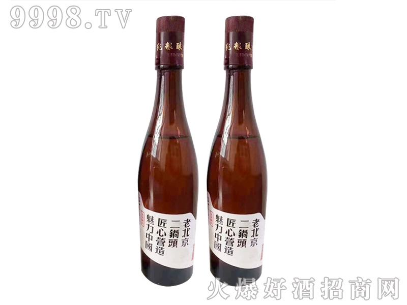 京宏福老北京二锅头42°500ml清香型白酒