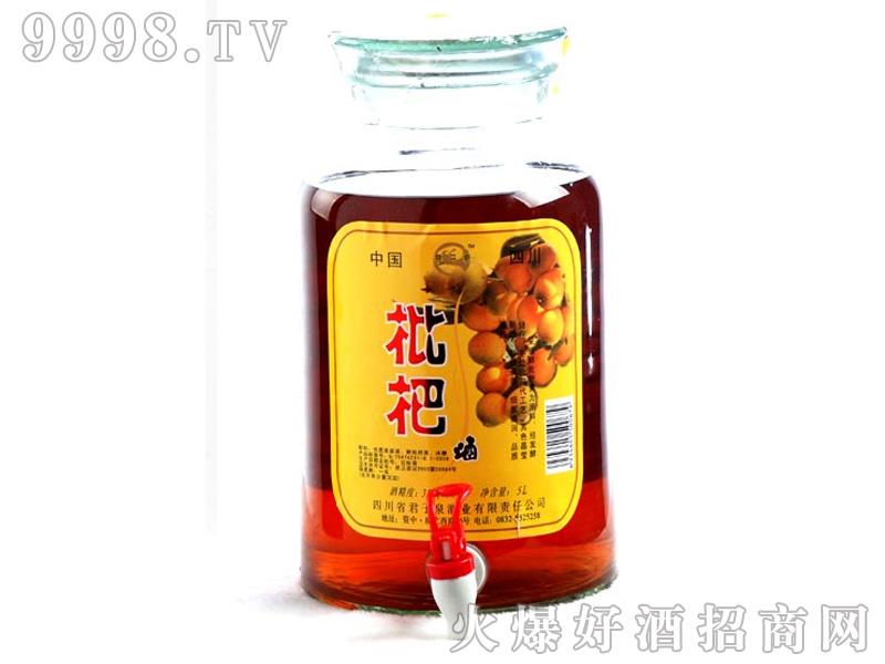 君子泉枇杷酒38%vol500ml