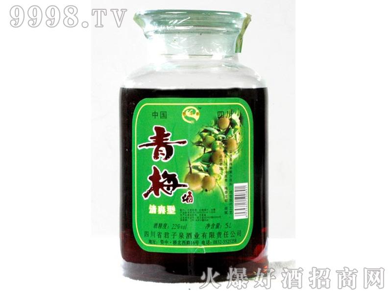 君子泉青梅酒(清爽型)22%vol5000ml