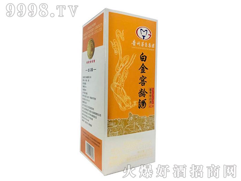 白金窖龄酒M30-53%vol500ml盒装