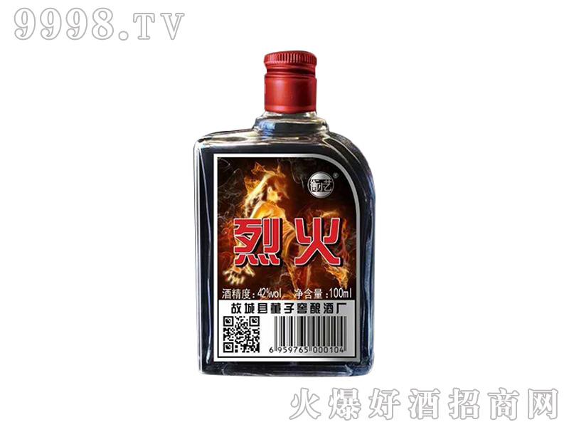 衡小艺烈火酒 100ml42°浓香型白酒