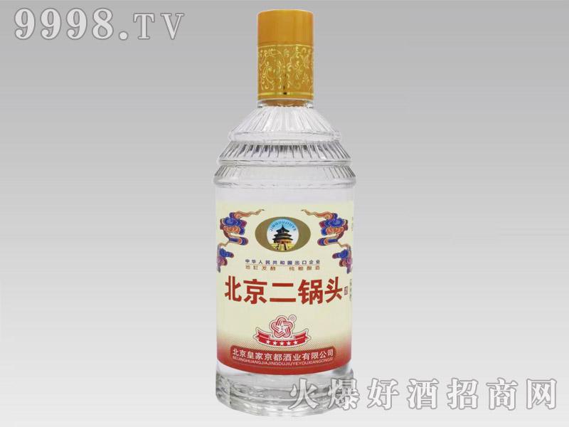 京都北京二锅头酒红标42°500ml清香型白酒