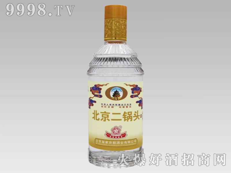 京都北京二锅头酒金标42°500ml清香型白酒