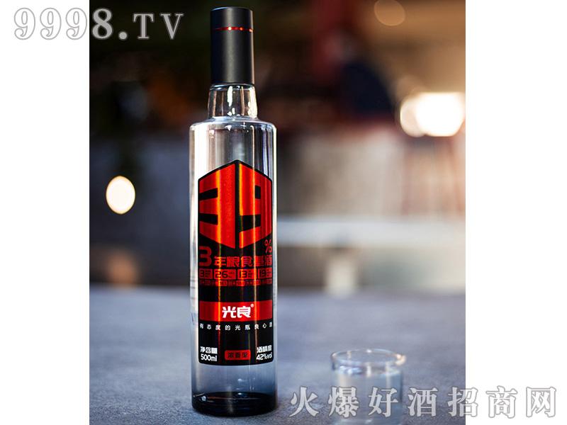 光良39%原浆浓香型白酒四川粮食酒42度500ml