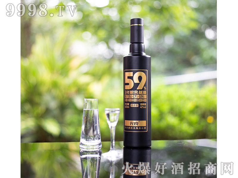 光良59%原浆42度纯粮食酒浓香型白酒500ml