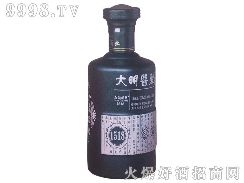 大明医圣苦荞酒1518 500ml32%vol