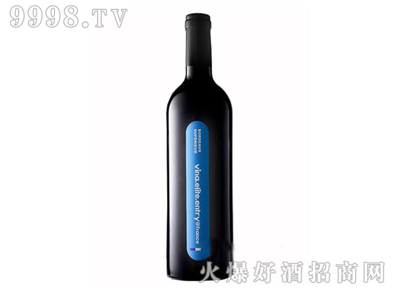 法国唯乐精英干红葡萄酒14°750ml
