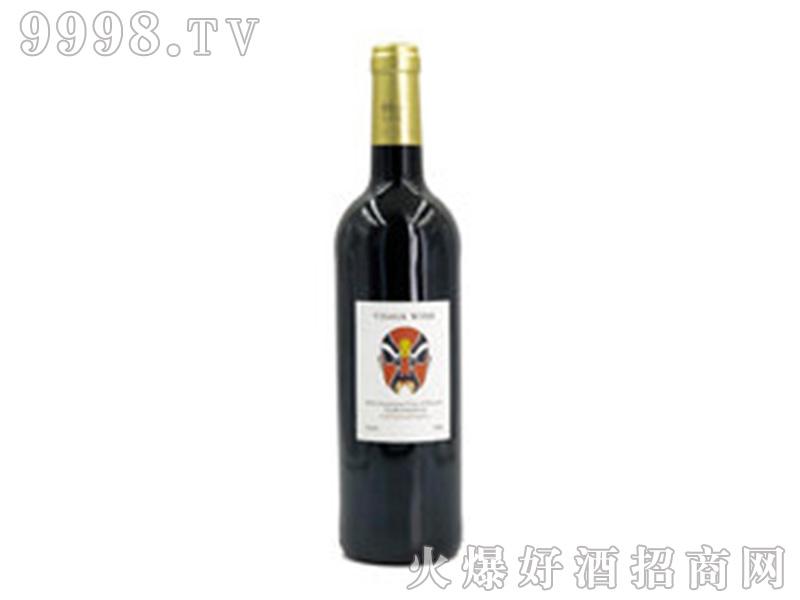 法国川浦13度干红葡萄酒单支750ml红酒