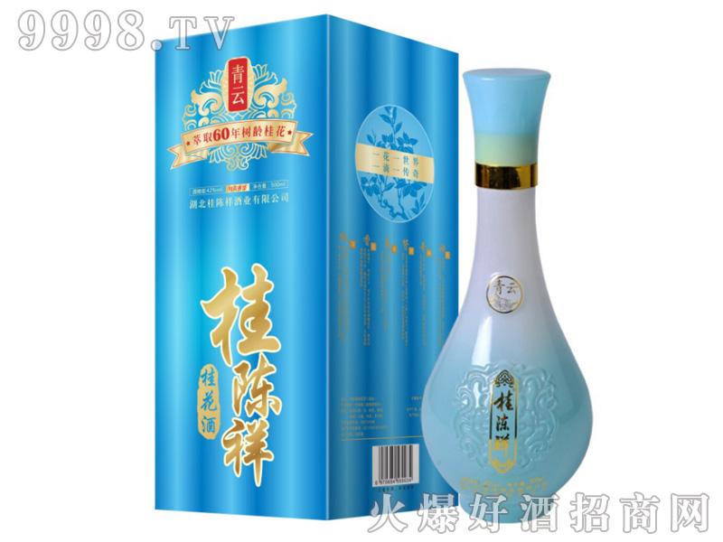 桂陈祥桂花酒-青云42°500ml