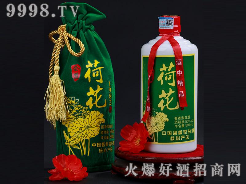 1982绒布荷花酒53°500ml-白酒招商信息