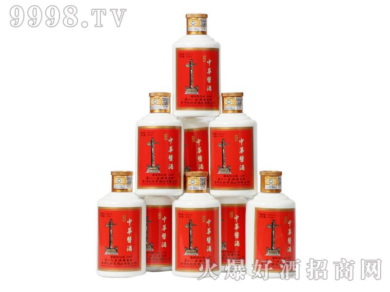 九封中华酱酒小酒53°125ml酱香型白酒