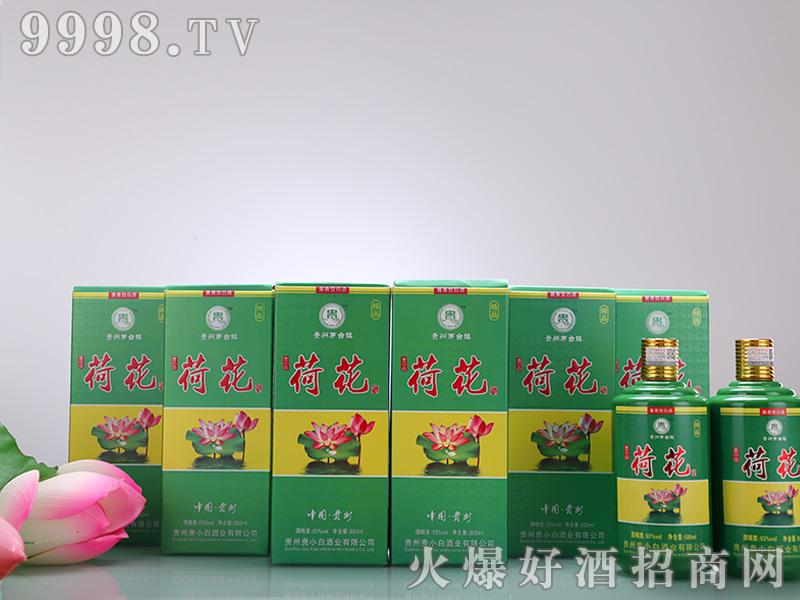 贵小白荷花酒盒装53°500ml