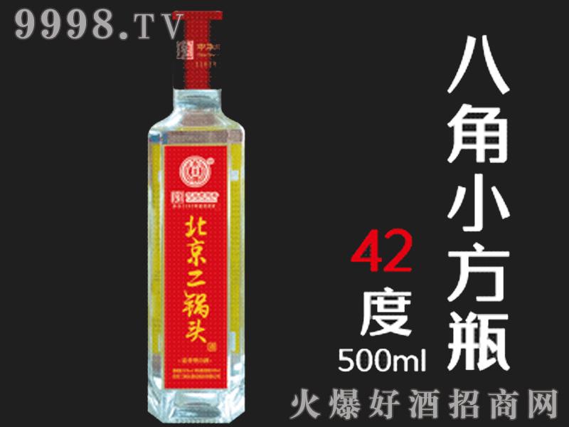 北京二锅头八角小方瓶42°500ml
