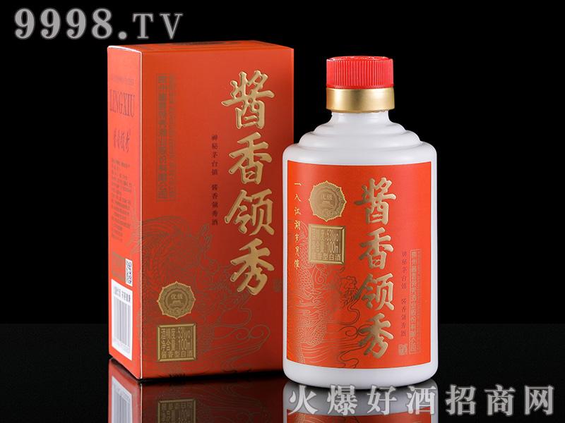 53度100ML酱香领秀小酒-橙色