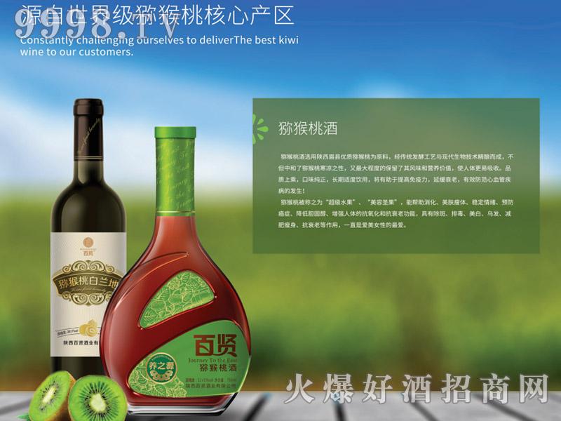 百贤猕猴桃酒13°750ml