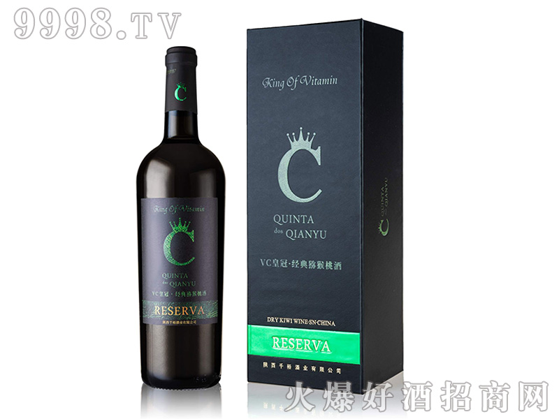 千裕皇冠半甜型瓶猕猴桃酒750ml