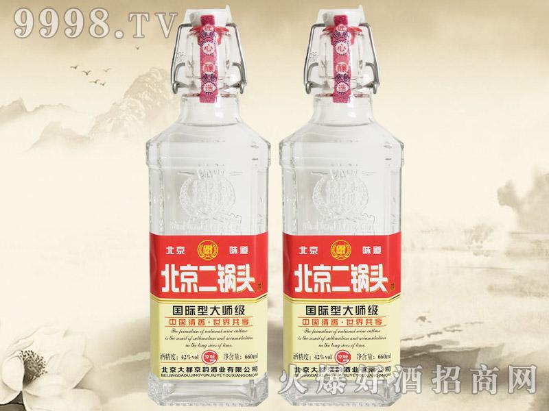 大都京韵北京二锅头酒国际型大师级红标42°660ml清香型白酒-白酒类信息