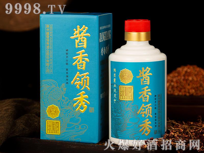 53°100ML酱香领秀小酒-天蓝色-白酒类信息