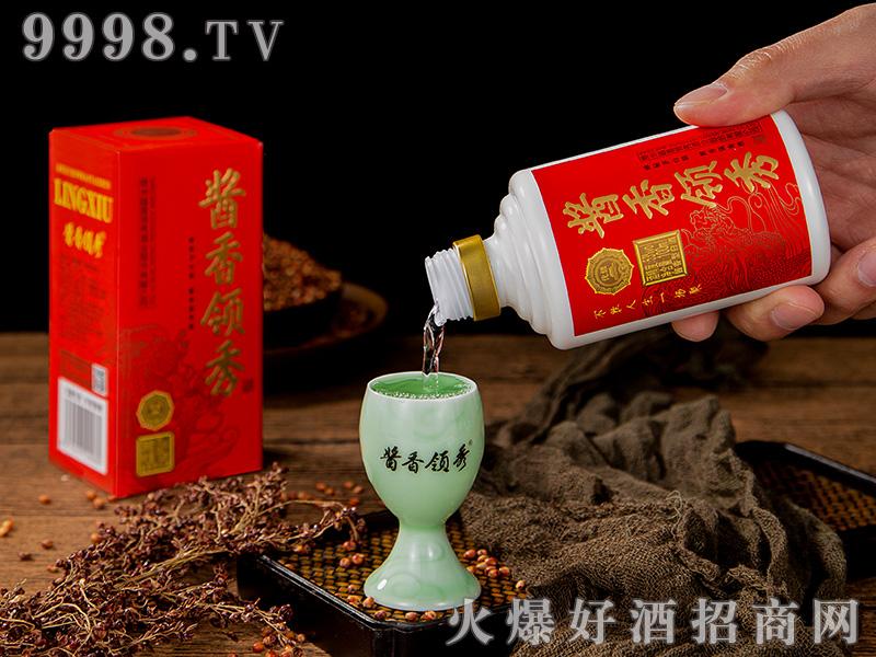 酱香领秀小酒53°100ML-淡红色-白酒招商信息