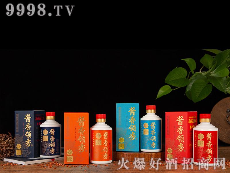 酱香领秀小酒组合53度100ml-白酒招商信息