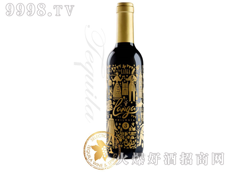 西班牙朗加三部曲有机红葡萄酒14.5°375ml-红酒类信息