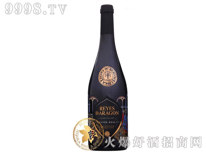 西班牙亚拉冈之王特酿红葡萄酒15°750ml-红酒类信息