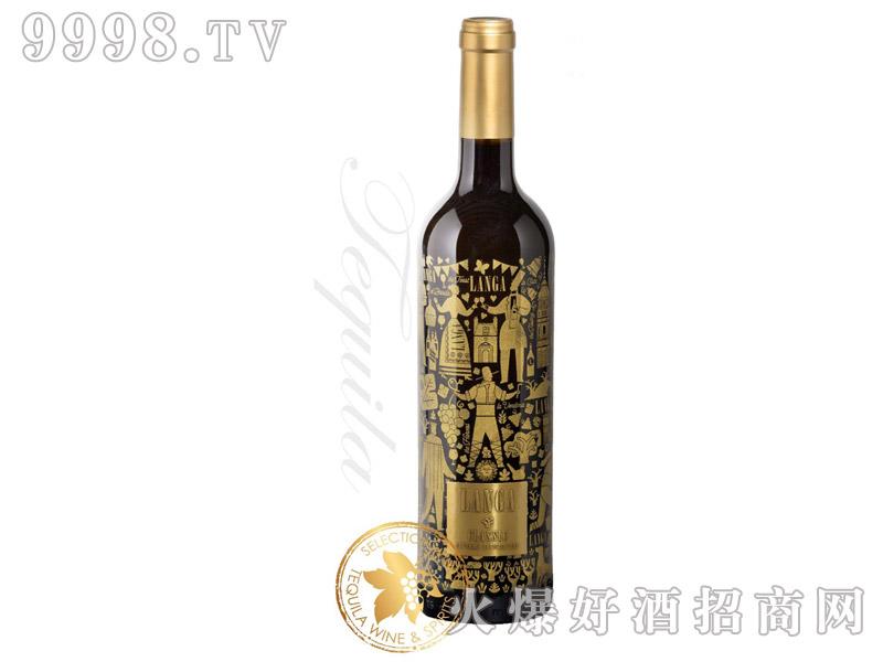 西班牙朗加经典精选老藤红葡萄酒14.5°750ml