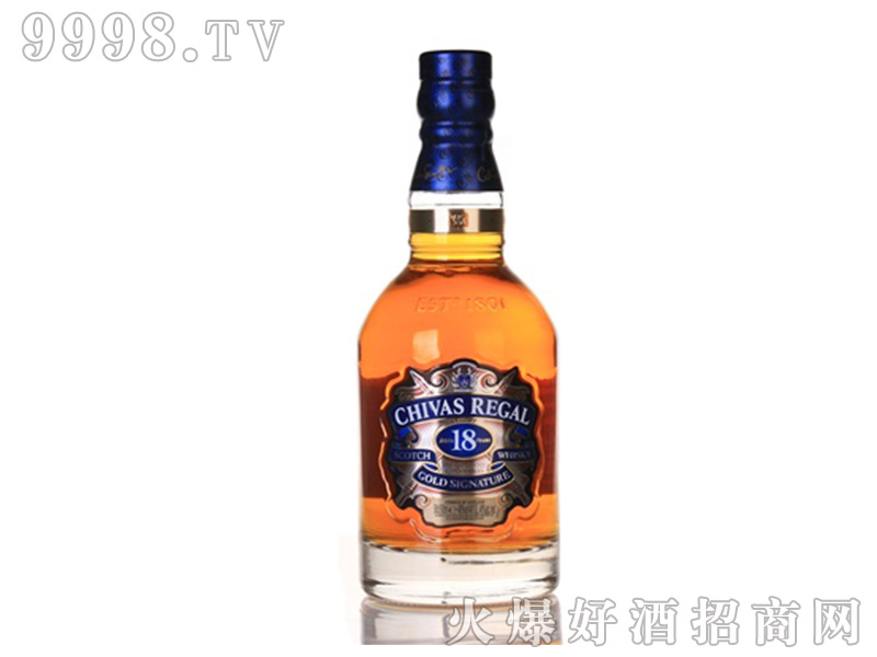 招商产品:芝华士18年威士忌500ml%>招商公司:上海酒管家酒业发展有限公司