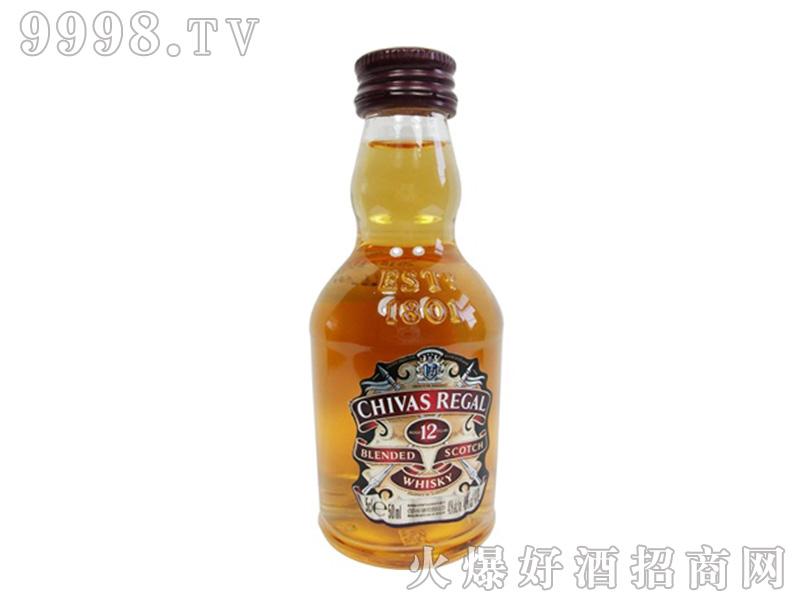 招商产品:芝华士小酒版50ml%>招商公司:上海酒管家酒业发展有限公司