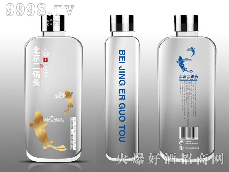 永丰牌G.L北京二锅头酒水晶鱼42°250ml清香型白酒