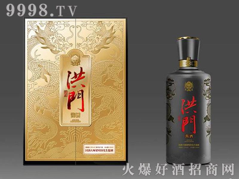 洪门源生酱酒礼盒装53°500ml酱香型白酒