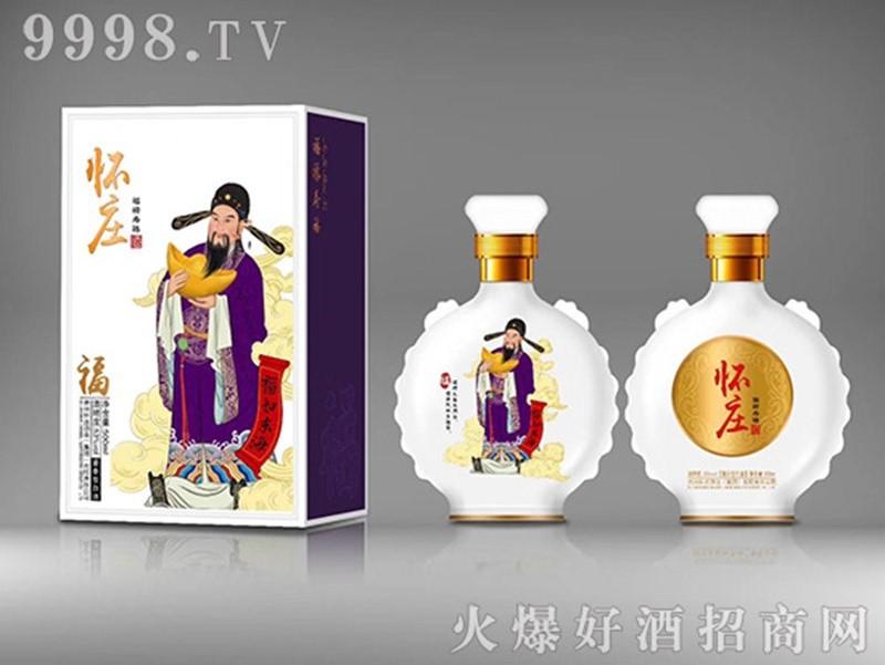招商产品:怀庄福禄寿禧酒福%>招商公司:山东吉欧商贸有限公司