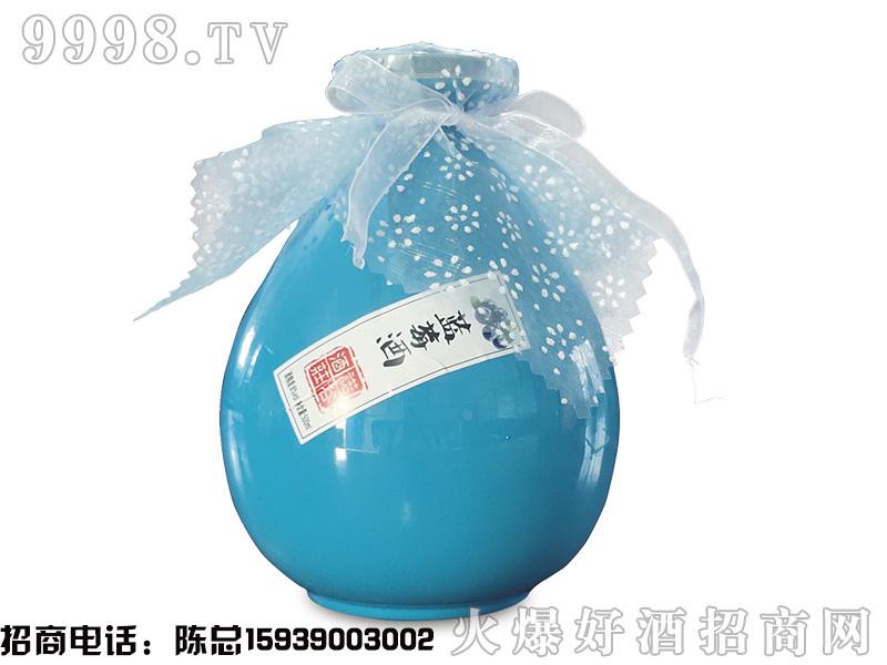 诺谷酒庄·蓝莓酒8度500ml