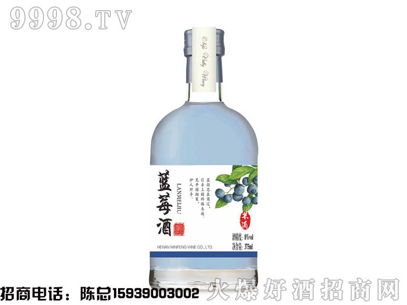 诺谷酒庄·蓝莓酒8°375ml