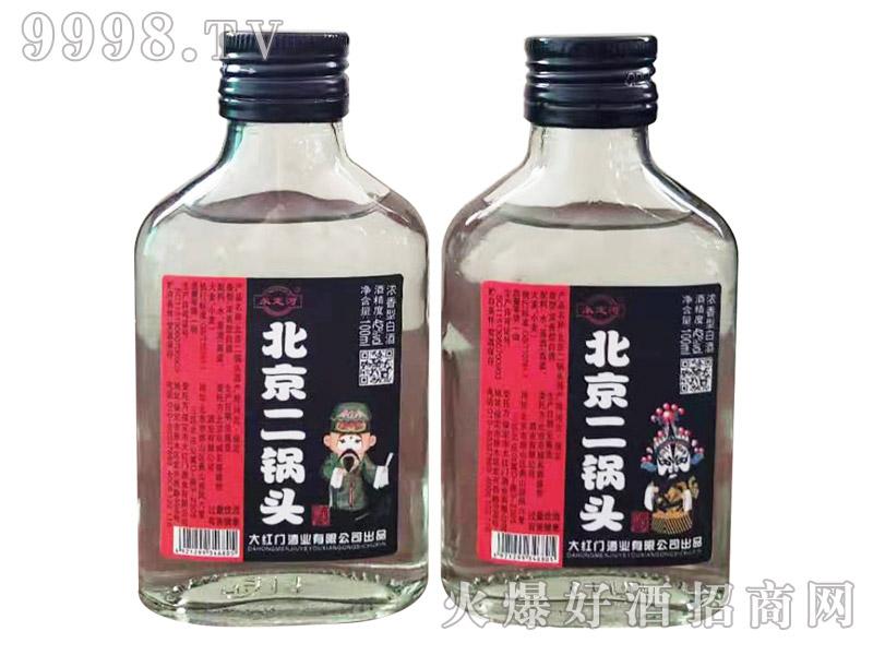 永定河北京二锅头酒42°100ml浓香型白酒