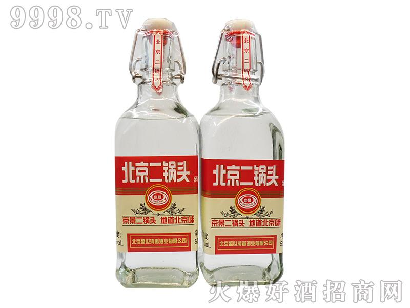 京景北京二锅头42°500ml浓香型白酒