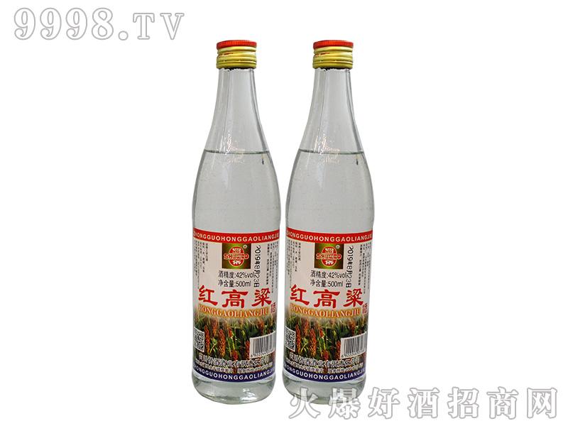 蜀侨红高粱42°500ml浓香型白酒