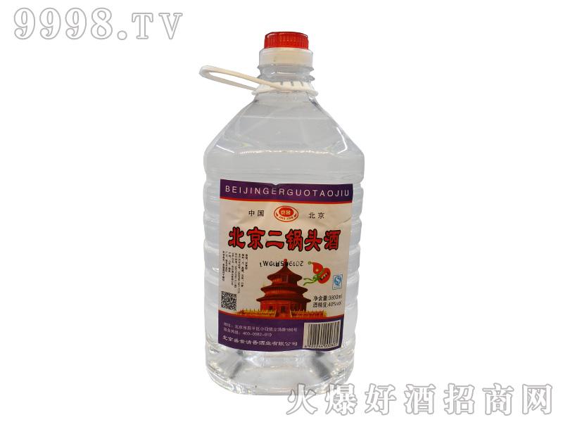 京景北京二锅头酒40度3800ml浓香型白酒