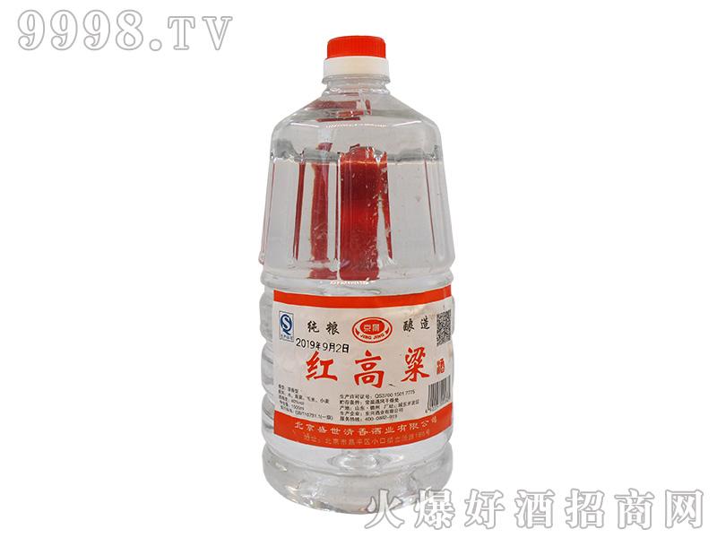 京景纯粮酿造红高粱40°1500ml浓香型白酒