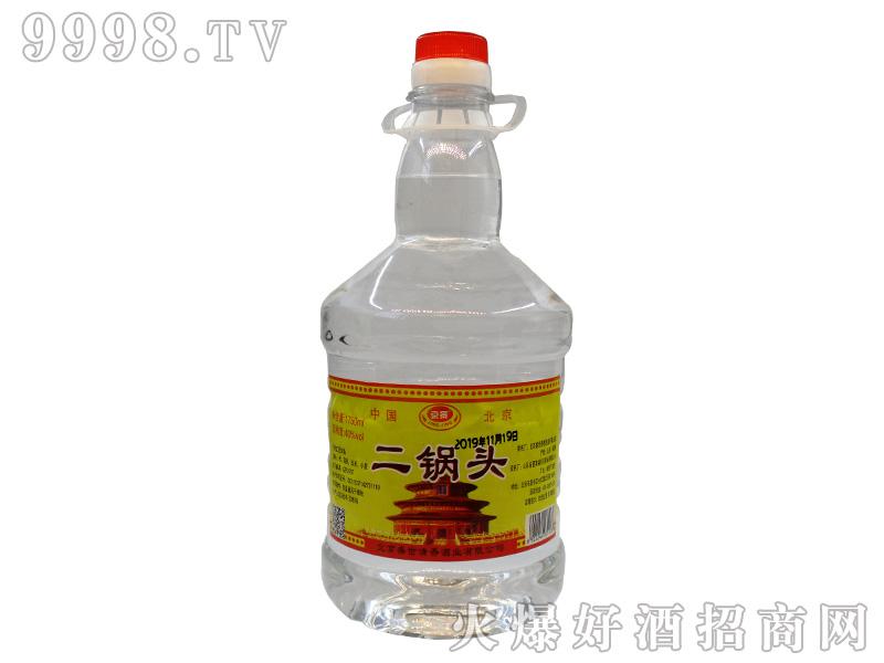 京景二锅头40°1750ml浓香型白酒