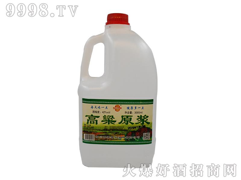 蜀侨高粱原浆42°3000ml浓香型白酒